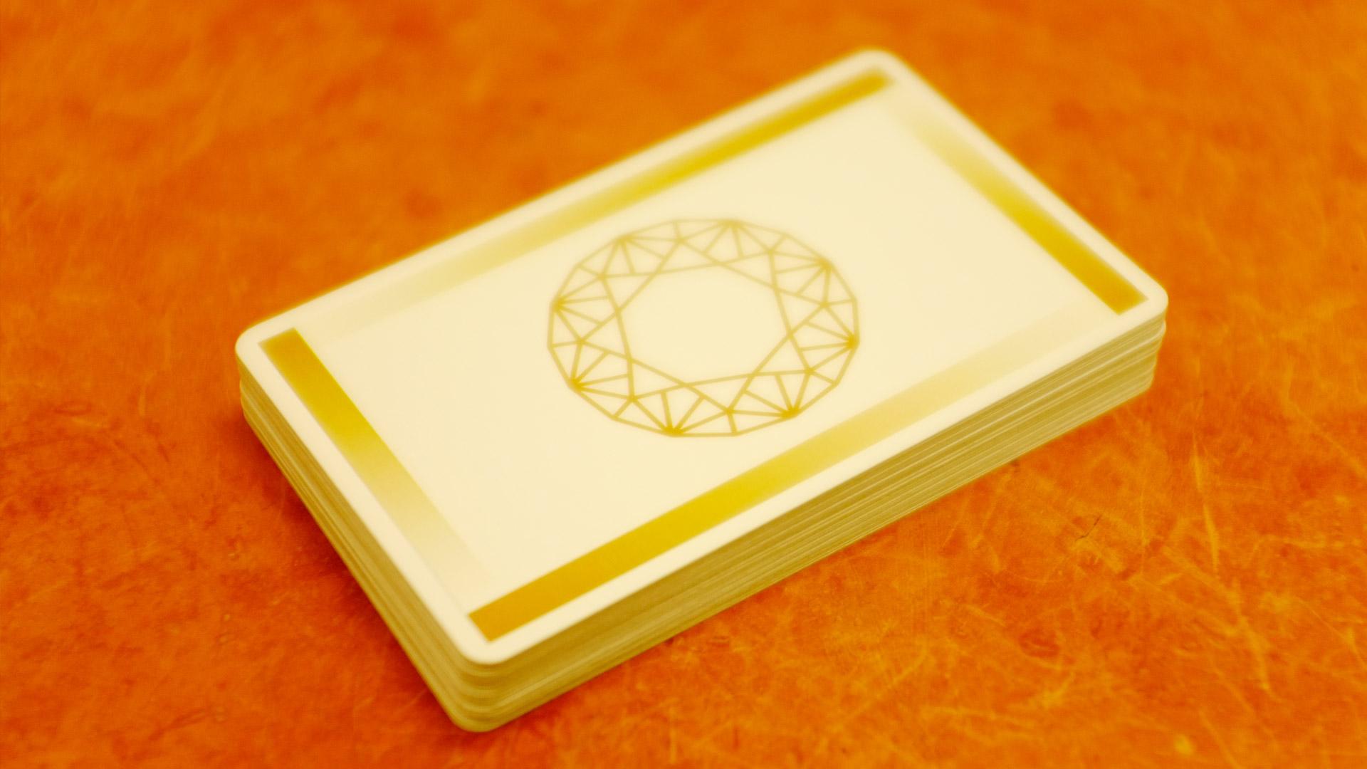 言霊カードの外観|言霊カードは登録商標です。紛らわしいカード写真の投稿はお控えください。